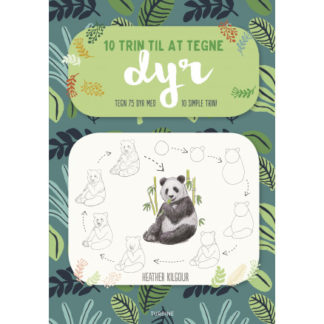 10 trin til at tegne dyr - Bog af Heather Kilgour