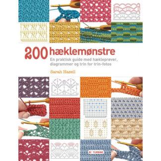200 hæklemønstre - Bog af Sarah Hazell