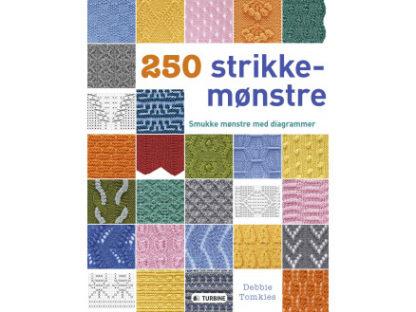 250 strikkemønstre - Bog af Debbie Tomkies