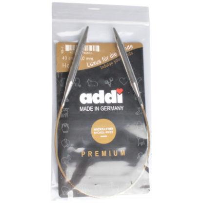 Addi Turbo Rundpinde Messing 40cm 8,00mm / 15.7in US11