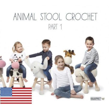 Animal Stool Crochet Part 1 - Engelsk - Bog af Anja Toonen