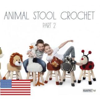 Animal Stool Crochet Part 2 - Engelsk - Bog af Anja Toonen