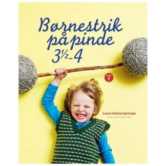 Børnestrik på pinde 3,5 - 4 - Bog af Lene Holme Samsøe