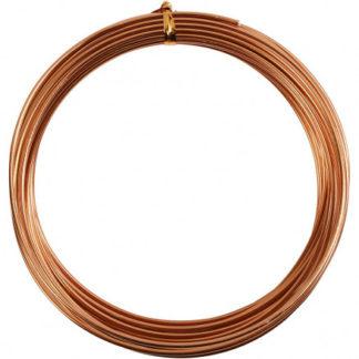 Bonzaitråd / Alu Wire Kobber 2mm 10m