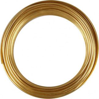 Bonzaitråd, tykkelse 3 mm, guld, rund, 29m
