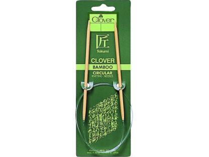 Clover Takumi Rundpinde Bambus 40cm 4,50mm /15.7in US7