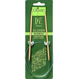 Clover Takumi Rundpinde Bambus 40cm 5,00mm /15.7in US8