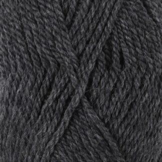 Drops Alaska Garn Mix 05 Mørkegrå