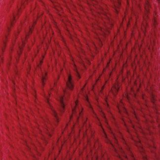 Drops Alaska Garn Unicolor 10 Rød