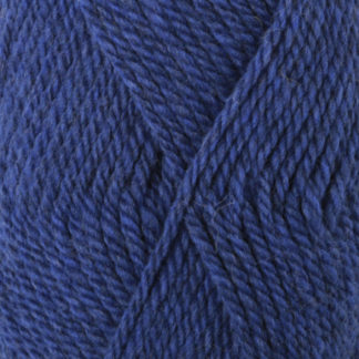 Drops Alaska Garn Unicolor 15 Koboltblå