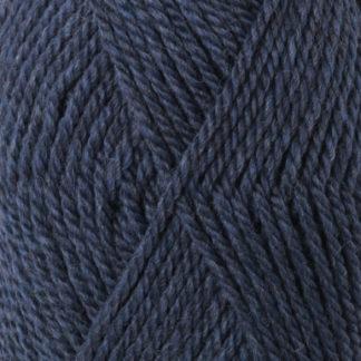 Drops Alaska Garn Unicolor 37 Grå/Blå