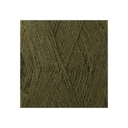 Drops Alpaca Garn Unicolor 7895 Army Grøn