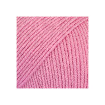 Drops Baby Merino Garn Unicolor 07 Rosa