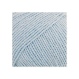 Drops Baby Merino Garn Unicolor 11 Isblå