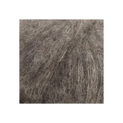 Drops Brushed Alpaca Silk Garn Unicolor 03 Grå
