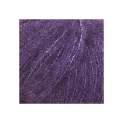 Drops Brushed Alpaca Silk Garn Unicolor 10 Violet