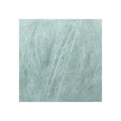Drops Brushed Alpaca Silk Garn Unicolor 15 Lys Søgrøn