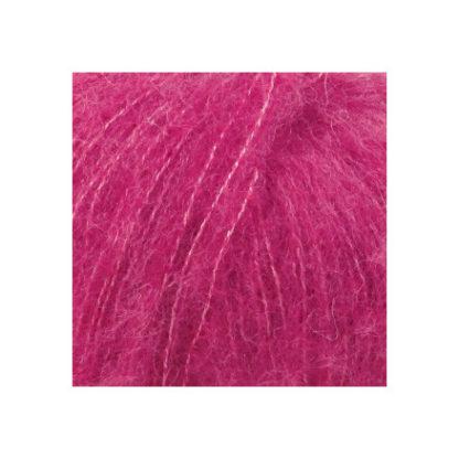 Drops Brushed Alpaca Silk Garn Unicolor 18 Cerise