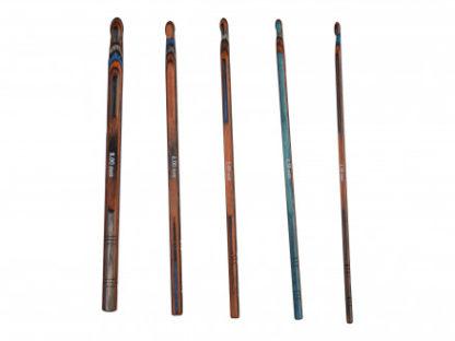 Drops Pro Romance Hæklenålesæt 15cm Birketræ 5 størrelser 3,5-8,0mm