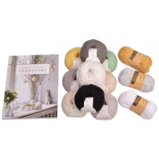 Hæklet Nordisk Påskepynt Bog inkl. Infinity Hearts Baby Merino kit