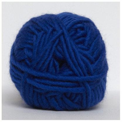 Hjertegarn Natur Uld Garn Unicolor 1670 Koboltblå
