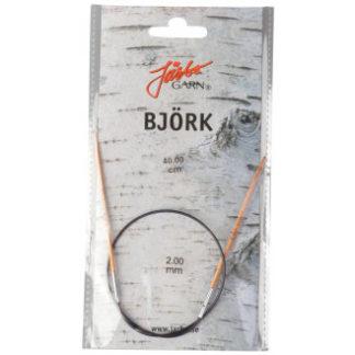 Järbo Björk Rundpinde Birk 40cm 2,00mm / 15.7in US0