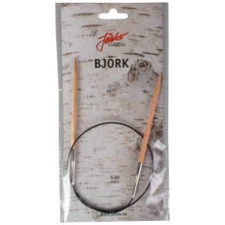 Järbo Björk Rundpinde Birk 60cm 5,00mm / 23.6in US8