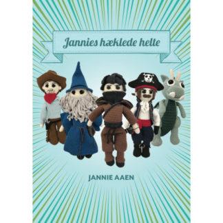 Jannies hæklede helte - Bog af Jannie Aaen