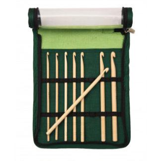 KnitPro Bamboo Hæklenålesæt Bambus 15,3 cm 3,5-8 mm 8 størrelser