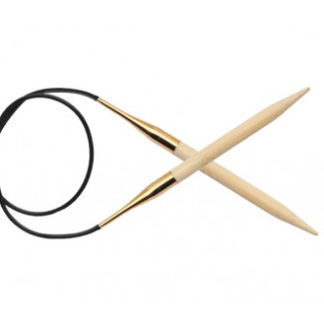 KnitPro Bamboo Rundpinde Bambus 100cm 6,50mm / 39.4in US10½