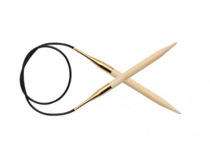 KnitPro Bamboo Rundpinde Bambus 60cm 6,00mm / 23.6in US10