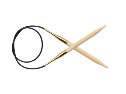 KnitPro Bamboo Rundpinde Bambus 80cm 2,50mm / 31.5in US1½