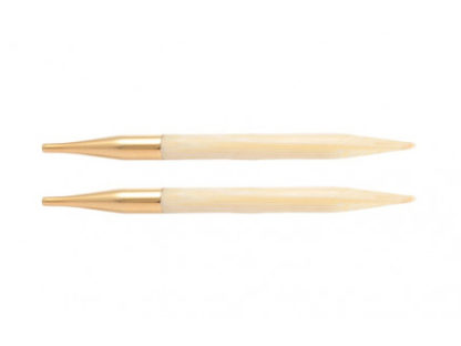 KnitPro Bamboo Udskiftelige Rundpinde Bambus 13cm 5,50mm / US9