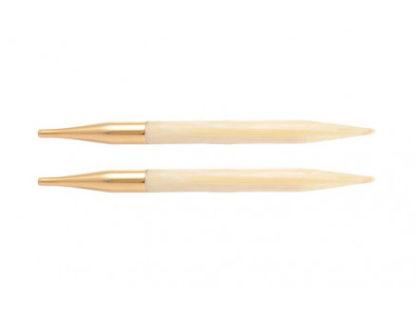 KnitPro Bamboo Udskiftelige Rundpinde Bambus 13cm 7,00mm / US10¾
