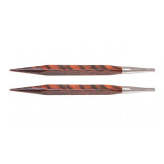 KnitPro Cubics Udskiftelige Rundpinde Træ 13cm 4,50mm US7