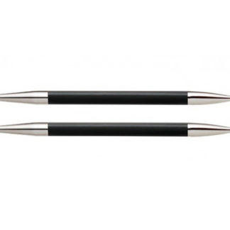 KnitPro Karbonz Korte Udskiftelige Rundpinde Kulfiber 9cm 3,00mm US2½