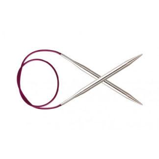 KnitPro Nova Metal Rundpinde Messing 60cm 6,00mm / 23.6in US10