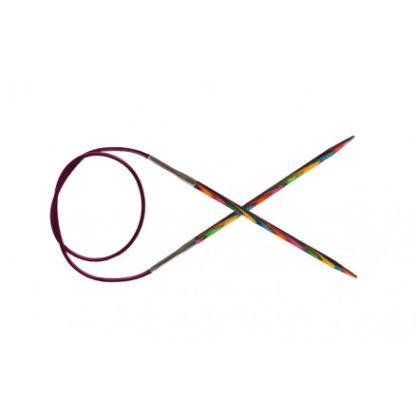 KnitPro Symfonie Rundpinde Birk 150cm 6,00mm / 59in US10