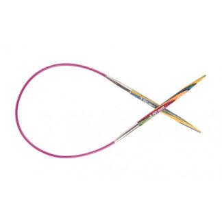 KnitPro Symfonie Rundpinde Birk 25cm 4,50mm / 9.8in US7