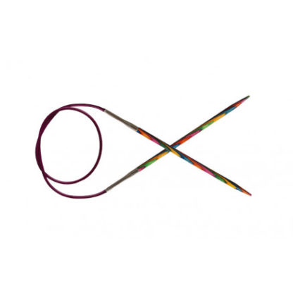 KnitPro Symfonie Rundpinde Birk 80cm 4,50mm / 31.5in US7