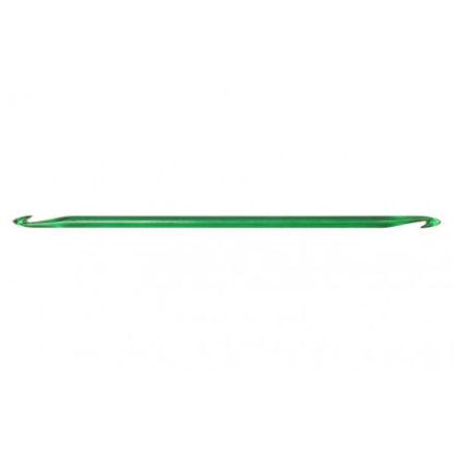 KnitPro Trendz Dobbelt Hæklenål Akryl 30cm 9,00mm Green til Tunesisk h