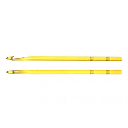 KnitPro Trendz Hæklenål Akryl 13cm 6,00mm Yellow