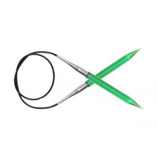 KnitPro Trendz Rundpinde Akryl 120cm 4,50mm / 47.2in US7 Green