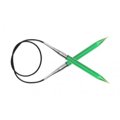 KnitPro Trendz Rundpinde Akryl 120cm 9,00mm / 47.2in US13 Green