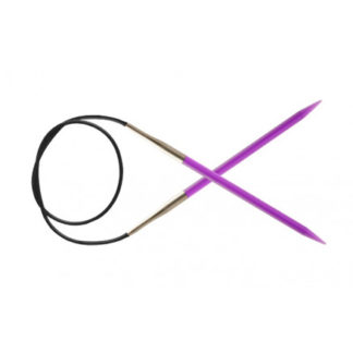 KnitPro Trendz Rundpinde Akryl 80cm 5,00mm / 31.5in US8 Violet