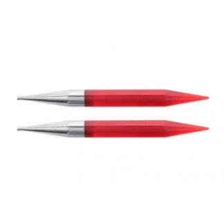 KnitPro Trendz Udskiftelige Rundpinde Akryl 13cm 12,00mm US17 Red