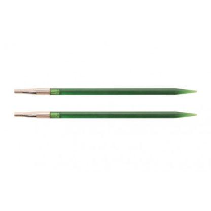 KnitPro Trendz Udskiftelige Rundpinde Akryl 13cm 4,50mm US7 Green