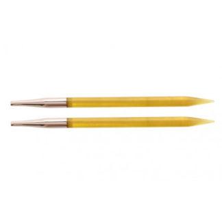 KnitPro Trendz Udskiftelige Rundpinde Akryl 13cm 6,00mm US10 Yellow