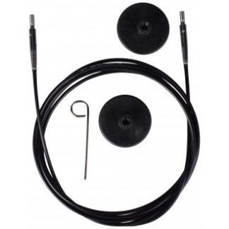 KnitPro Wire / Kabel til Udskiftelige Rundpinde 126cm (Bliver 150cm in
