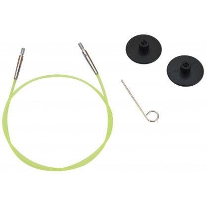 KnitPro Wire / Kabel til Udskiftelige Rundpinde 35cm (Bliver 60cm inkl